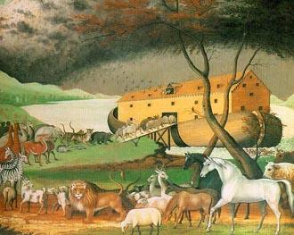 L'arche de Noé retrouvé en Turquie? Edwardhicksnoahsark